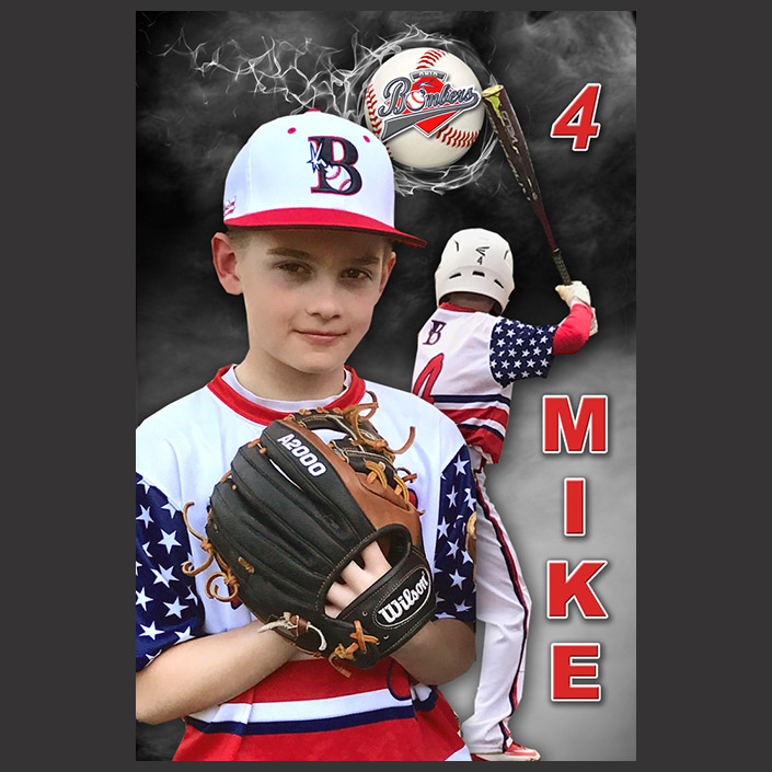 "16"" x 24"" Youth Sports Banner"